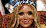Miss Russland Xenia Suchinowa wurde in Johannesburg zur Miss World 2008 gekührt. Platz zwei und drei belegten Bewerberinnen aus Trinidad/Tobago und Indien. - news-20081215-10272708-13131159711