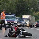 Motorradfahrerin bei Unfall verletzt