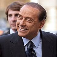 Der italienische Ministerpräsident Silvio Berlusconi, der am Freitag mit seinem albanischen Amtskollege Sali Berisha in Rom ein Abkommen zur strategischen ... - news-20100216-12052219-7359748031