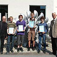 Junge Mathe-Talente zeigten mit tollen Leistungen auf