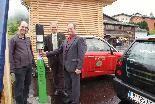 Die erste VLOTTE-Tankstelle im Walsertal wurde in Raggal eröffnet.