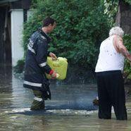 Wieder Hochwasser in Vorarlberg
