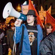 Anti-Fekter-Demo in Dornbirn