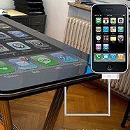 58 Zoll iPhone-Tisch entwickelt?