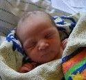 Geburt von Mia Lässer am 18.4.2011