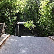 Rappenlochbrücke in Dornbirn eingestürzt