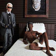 Karl Lagerfeld designt Schokosuite