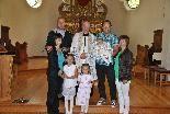 Marlon Alexander Feuerstein wurde getauft.