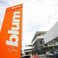blum konnte umsatz um 120 millionen euro steigern h chst vol at. Black Bedroom Furniture Sets. Home Design Ideas