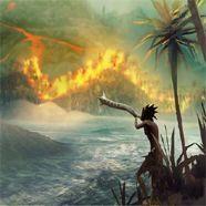 Ureinwohner leben gefährlich - im nervenzerfetzenden From Dust.
