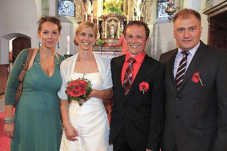 Dagmar Dirnbauer und Michael Rajek haben geheiratet.