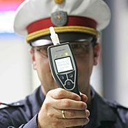 Alkoholkontrollen in Hittisau
