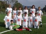 Das Schülerligateam 2011/12 der MS Hittisau.