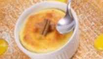 Leckeres Mango-Soufflé