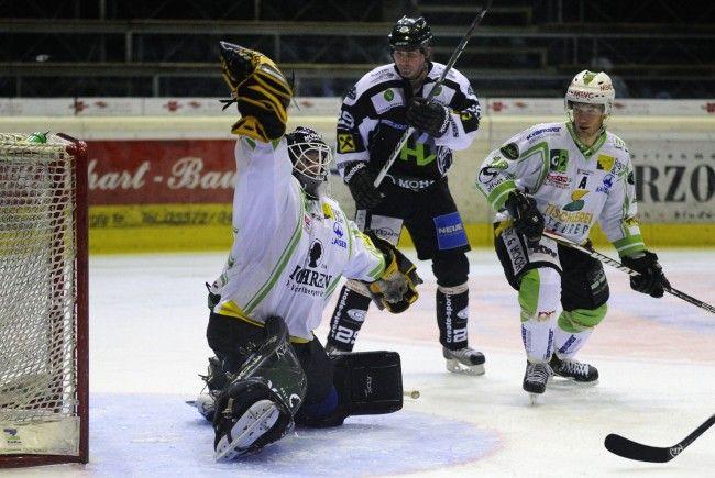 EHCB-Goalie Dennis Hedström ist gegen Vizemeister Dornbirn gefordert – zu Hause gab es in dieser Saison noch keinen Sieg.