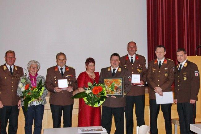 Hohe Auszeichnungen für Feuerwehrjugend-Funktionäre