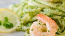 Das Rezept des Tages: Nudeln mit Shrimps