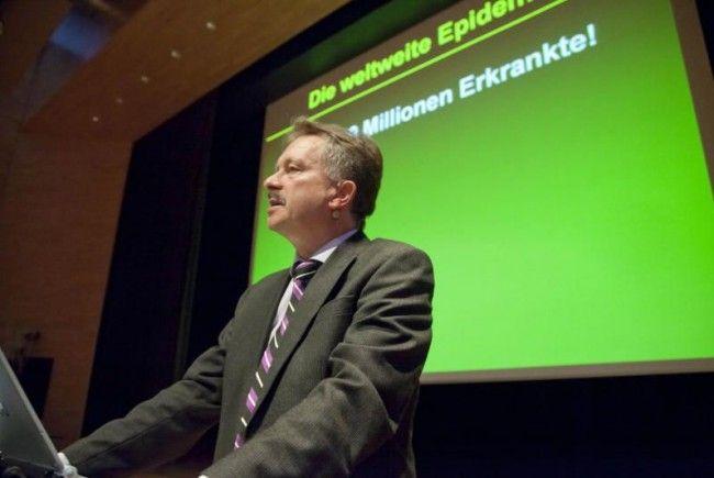 Primar Dr. Heinz Drexel wusste das Publikum mit seinen Ausführungen zu begeistern.