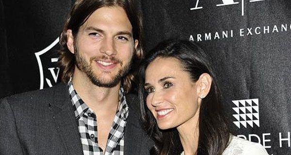 Ashton Kutcher und Demi Moore - das war einmal!