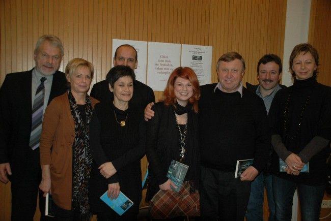 Das Team rund um Jose Oberhauser (li.), das beim Hilfsgütertransport nach Rumänien dabei war