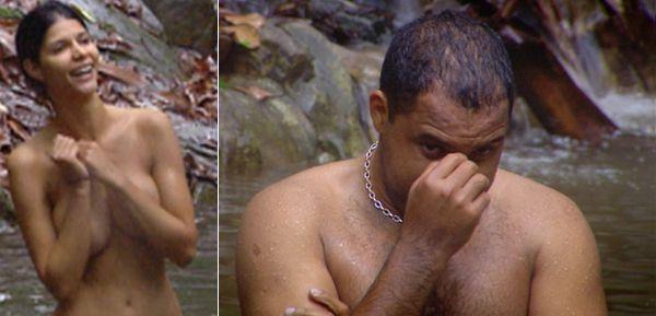 Ailton wusste nicht wie ihm geschieht als Ramona sich entblößte.