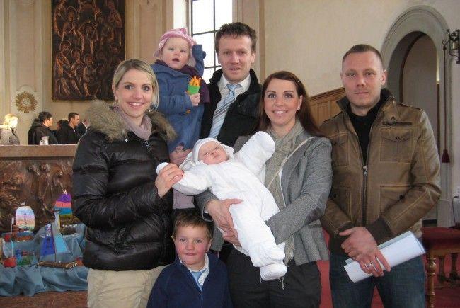 Paula Muther wurde getauft.