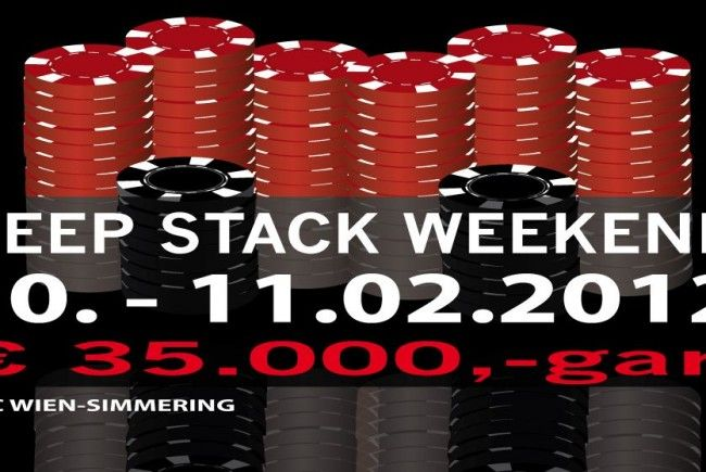 Deep Stack Weekend im CCC Wien-Simmering
