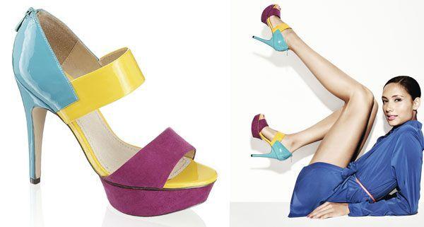 So farbenfroh präsentiert sich das Schuh-Frühjahr.