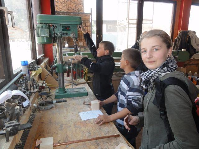 Die Schüler aus Au und Bezau erhielten einen Einblick in die Berufswelt.
