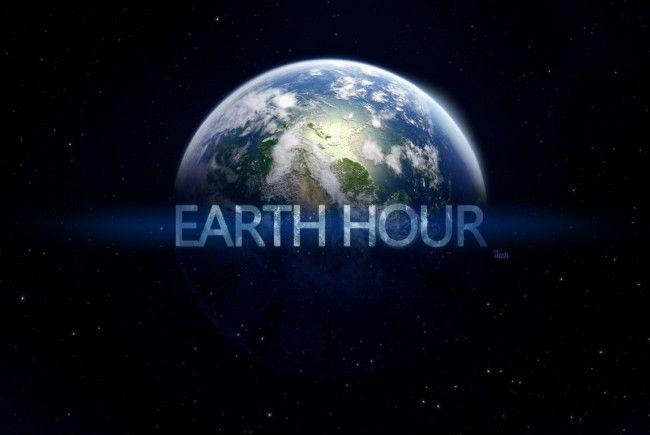 Am 31. März ist die Earth Hour: Machen Sie mit - für unseren Planeten!