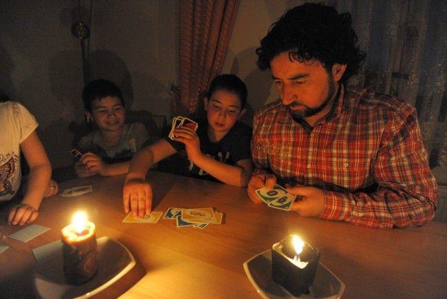Uno spiele geht auch bei weniger Licht