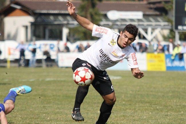 Vinicius Gomes Maciel blieb in Wattens ohne Torerfolg.