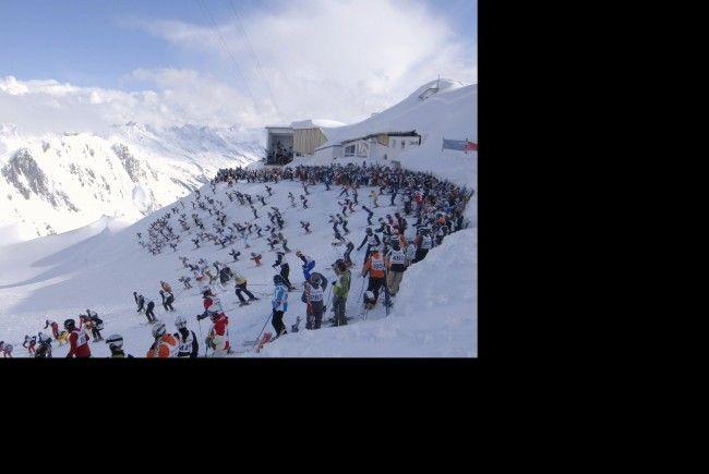 Der weiße Rausch ist das letzte große Skievent dieser Saison am Arlberg.