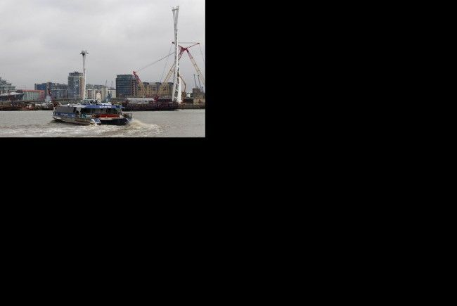 Doppelmayr für Konstruktion über Themse von ExCeL-Arena zu O2-Arena verantwortlich.