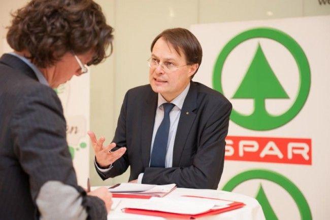 Spar-Vorstandsvorsitzender Gerhard Drexel im VN-Gespräch über Wachstumspläne und neue Trends.