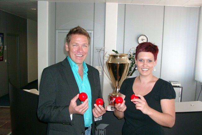 Die Halbfinalpaarungen im heimischen Pokalbewerb wurde in Hohenems gezogen.