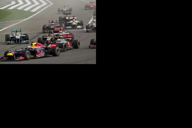 Vettel ließ die Konkurrenz hinter sich.