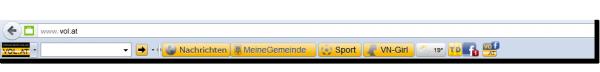 NEU: VOL.AT-Toolbar jetzt verfügbar!