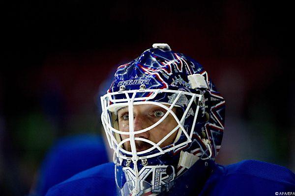 Rangers-Goalie Lundqvist blieb ohne Gegentor
