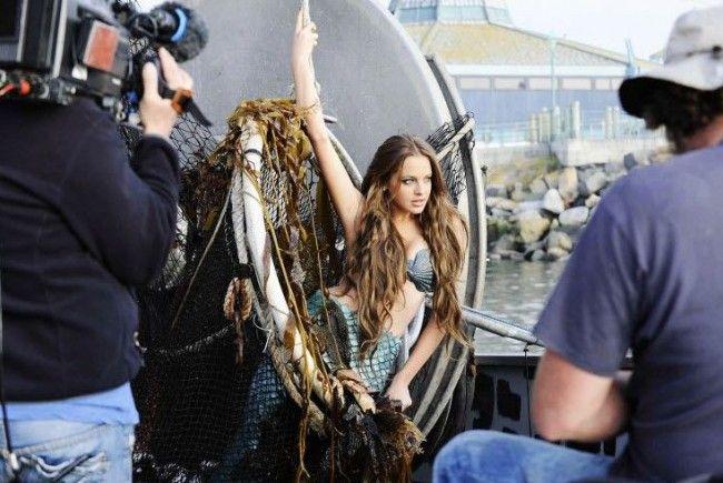 """Diana verließ """"Germanys Next Topmodel"""" nach gelungenem Meerjungfrauen-Shooting freiwillig."""