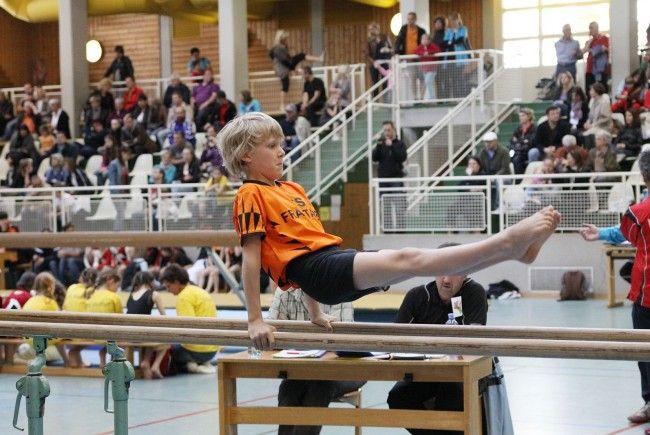Zweitägiges Turnfestival in Rankweil.