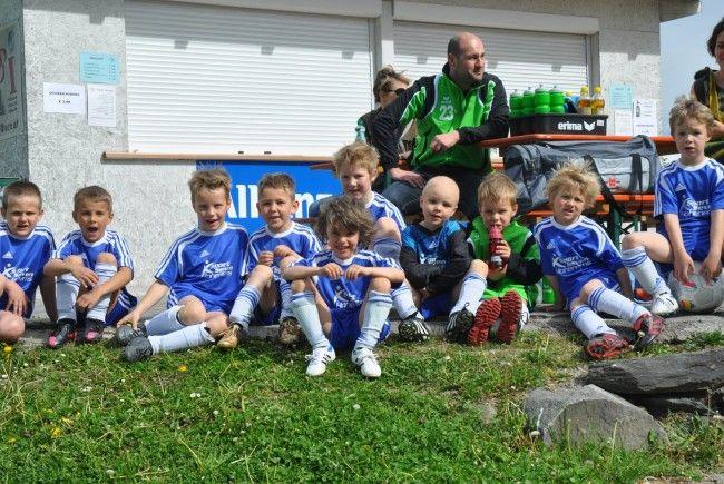 Hatten riesen Spass, die Kids von FC Sulz U7