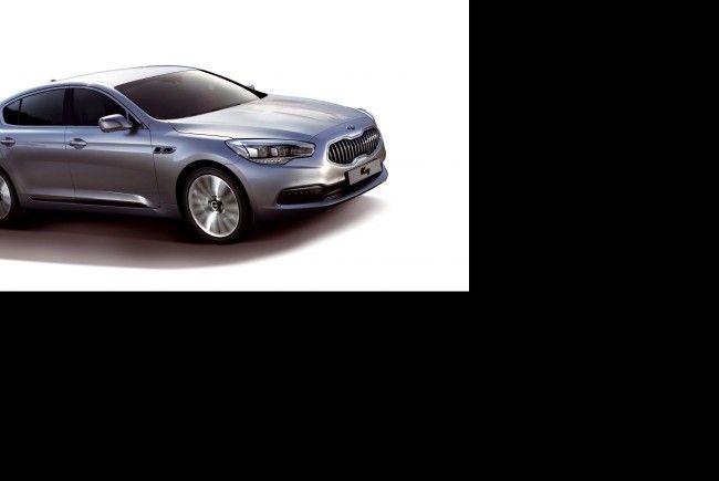 Erste moderne Kia-Limousine mit Heckantrieb verfügt über kraftvolle V6-Benziner und 8-Stufen-Automatik