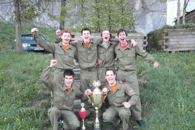 Sieg beim Kuppelcup in Au