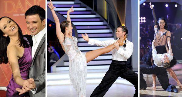 Das sind die drei Final-Paare bei Dancing Stars.