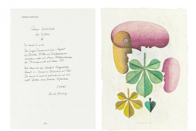 Sommerausstellung der Vorarlberger Landesbibliothek wird am 1. Juni mit einer Lesung von Arno Geiger eröffnet.