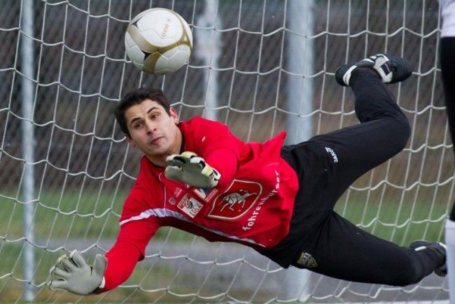 Goalie Martin Kobras bleibt dem SCR Altach erhalten.
