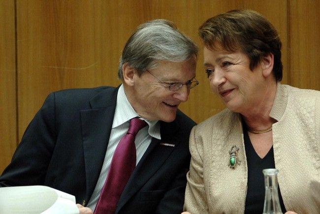 Liesl Gehrer und Wolfgang Schüssel verstanden sich prächtig.
