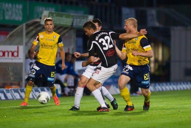 FC Lustenau bangt nach 0:3 gegen Hartberg um Liga-Verbleib