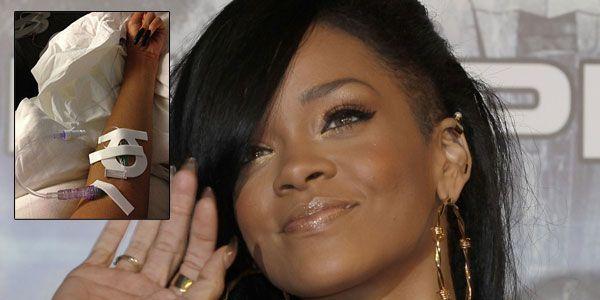 Dehydriert und erschöpft - Sorge um Rihanna.